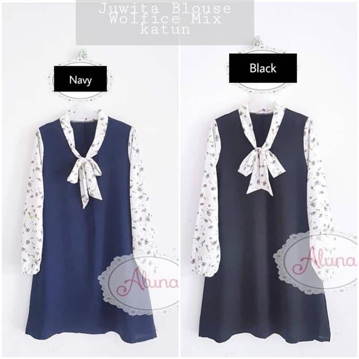 Baju wanita lucu Atasan muslimah Grosir Baju murah Juwita blouse 10 f2d3949e10