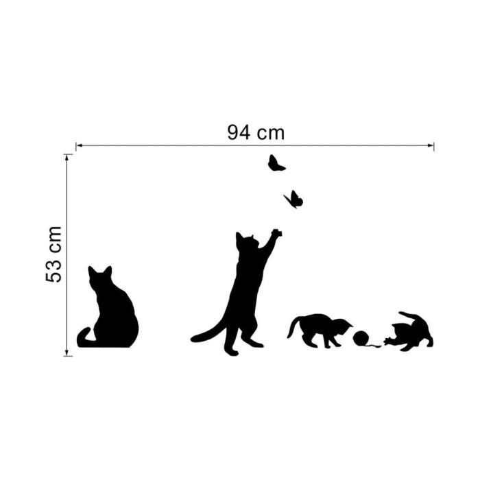 Bahan Lengkap Untuk Model Menggambar A B C D Jual Stiker Dinding Dengan Bahan Mudah Dilepas Gambar Kucing Dan Ku Jakarta Pusat Abc Store Idr Tokopedia