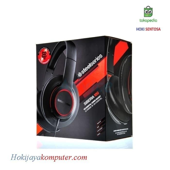 45ef0213a8b Jual Headset Gaming SteelSeries Siberia 100 Black - Kota Medan ...