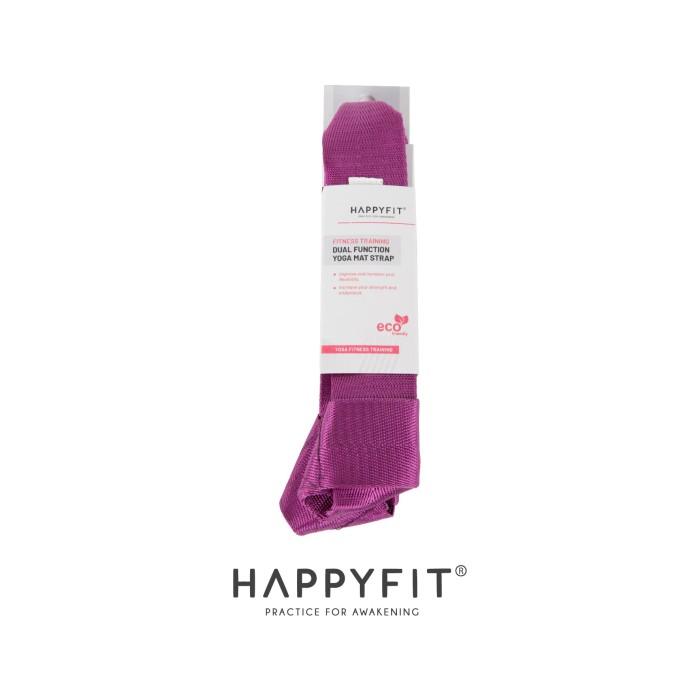harga Happyfit dual function yoga mat strap - ungu Tokopedia.com