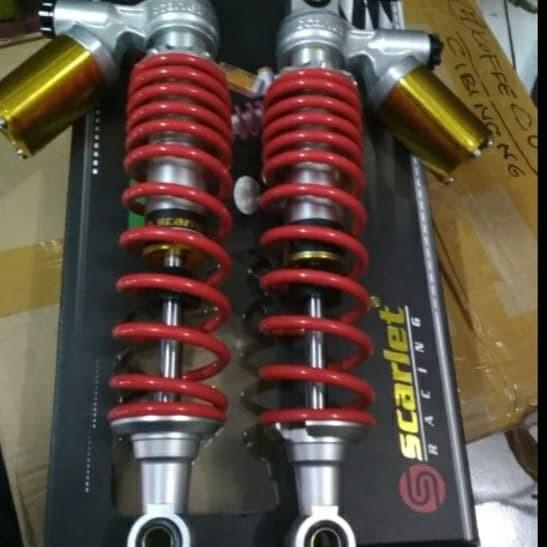 shock tabung belakang scarlet NUVO 285MM