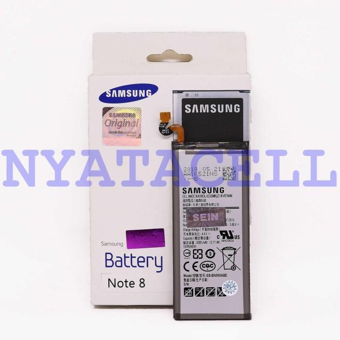 Foto Produk Baterai Original 100% Samsung Galaxy Note 8 /Ori/Batre/Sein dari NYATACELL