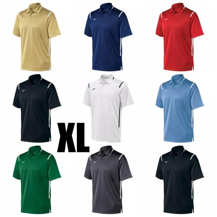 164f30506 Men's Polo Nike DRI-FIT Size XL ALL COLOUR 100 % Original - Hitam, XL