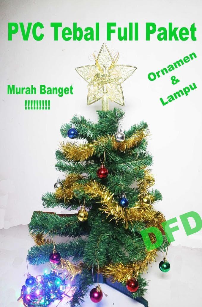 Jual Promo Diskon Sale Hot Pohon Natal Full Package 60cm Pvc Tebal P 003 Jakarta Utara Aini Shop7 Tokopedia