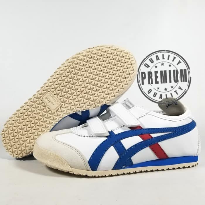 best sneakers f596d 48741 Jual SEPATU ANAK ONITSUKA TIGER WHITE - Kota Medan - sun kids shoes |  Tokopedia