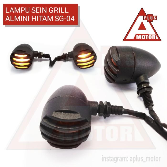 harga Lampu sein cb japstyle grill custom reteng hd tralis full hitam Tokopedia.com