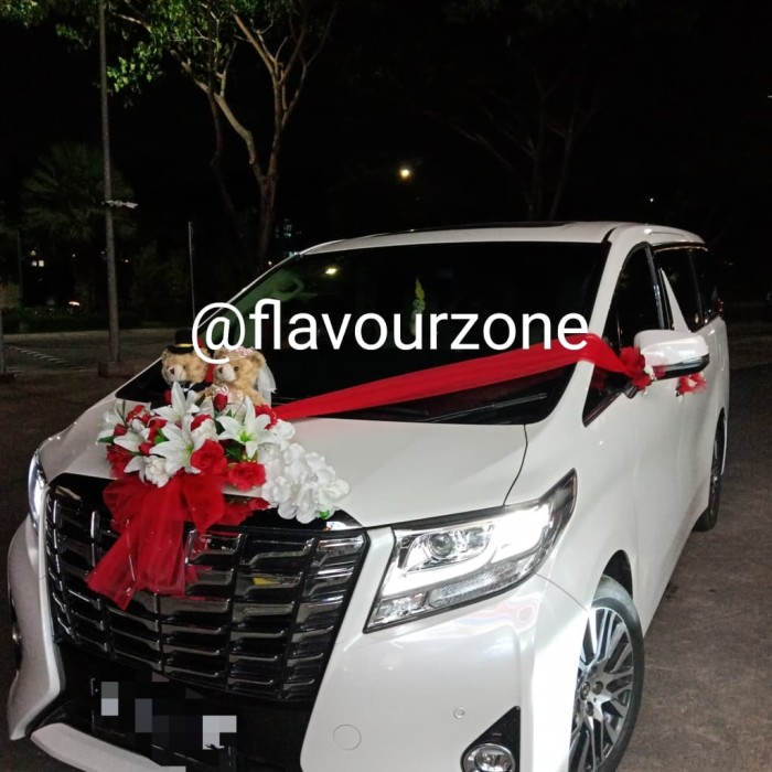 Jual Hiasan Mobil Pengantincar Wedding Accesoriesbunga Pengantin Kota Tangerang Flavour Zone Tokopedia