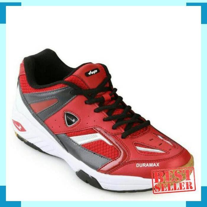 Jual EAGLE METRO Red Black (original) Badminton shoes - hiera.shop33 ... 426723fb1f