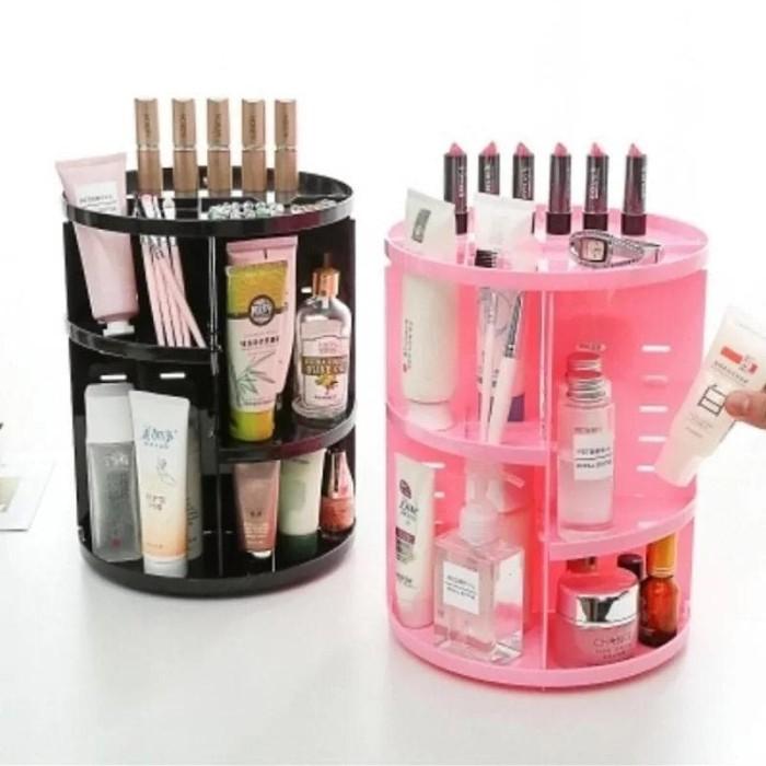 Make up Organizer/Tempat Rak Kosmetik Putar 360°