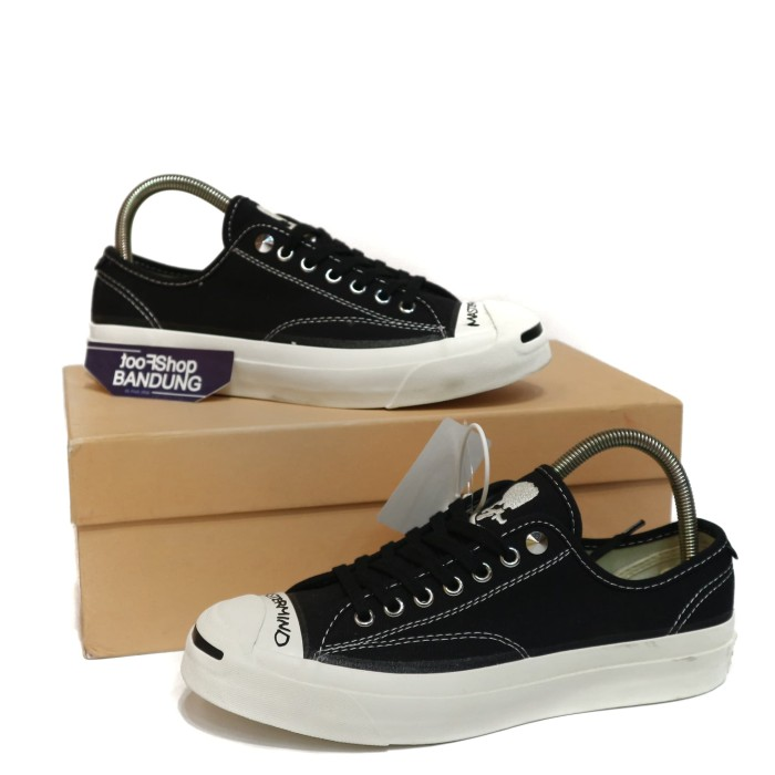 44815736bfe74b Jual Converse Addict Jack Purcell X Mastermind Japan Black White UA ...