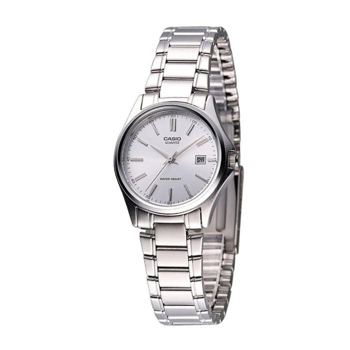 harga Casio ltp-1183a-7adf - jam tangan wanita - silver Tokopedia.com