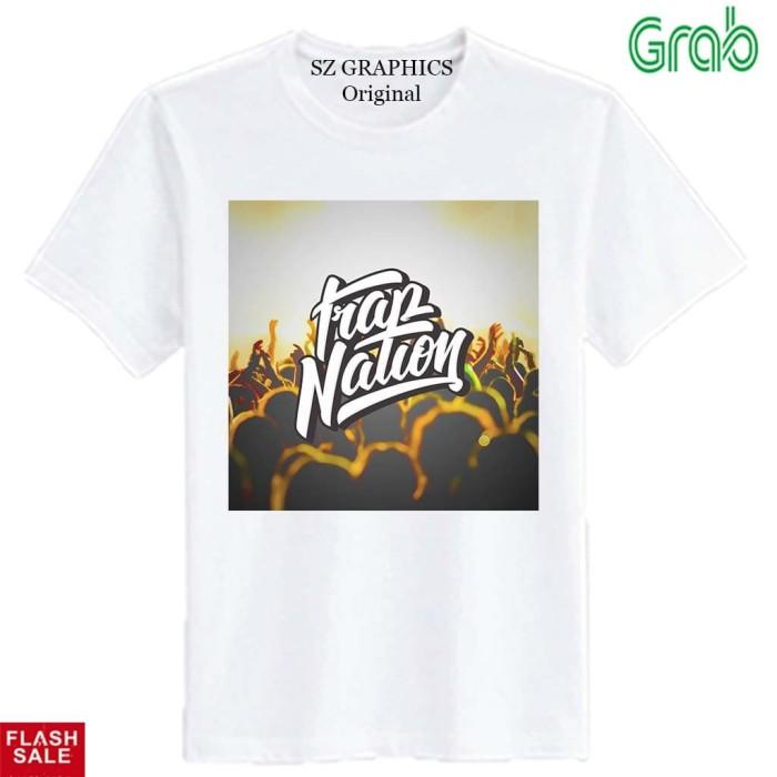 sz graphics t shirt pria kaos pria baju pria trap nation brown