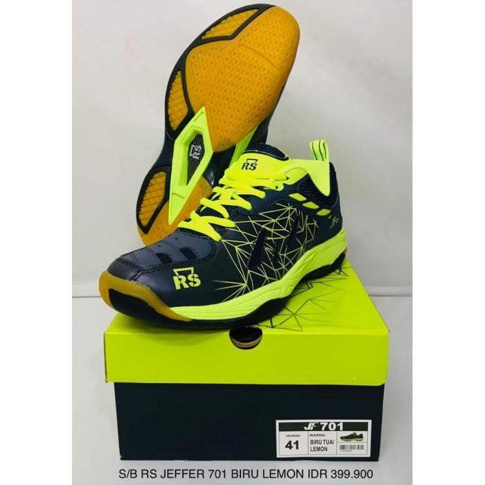 Jual Sepatu Badminton RS Jeffer   JF 701 Murah - zumazum11  7e59b00d2b