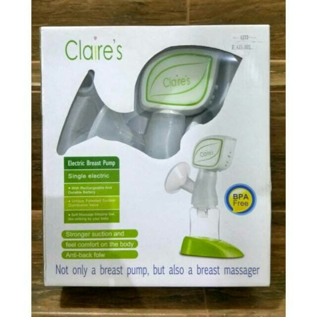 Claire's Single Breastpump Electric BP-A20/ Pompa Asi Elektrik