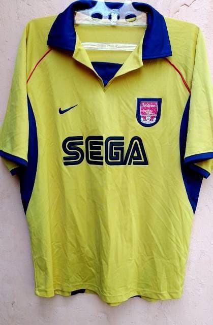 more photos f4260 bcdc5 Jual jersey nike Arsenal 1999 SEGA ukuran XL KW Luar Excellent murah - Kota  Bekasi - JerseyKitah | Tokopedia
