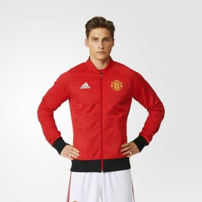 9e462a29bff Jual Jaket Adidas Mu Manchester United Anthem (Ai5401) 100% Original ...