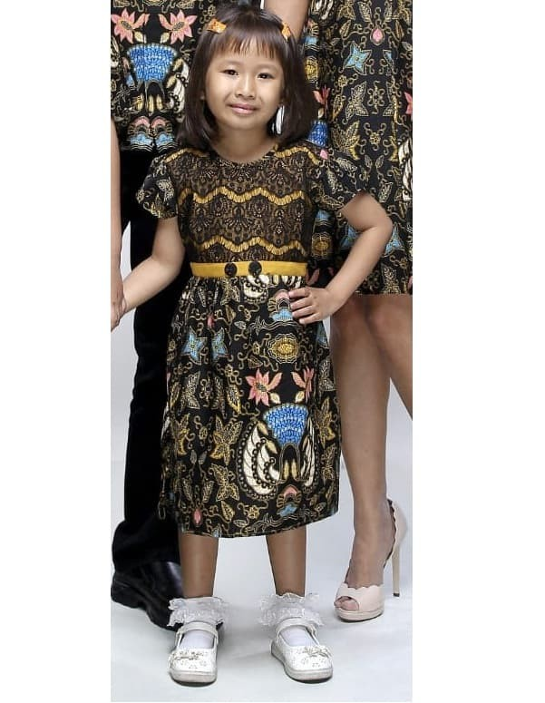 Jual Dress Terusan Baju Batik Anak Perempuan 2494 Balita Tk Sd Size S Kota Surakarta Arumi Batik Tokopedia