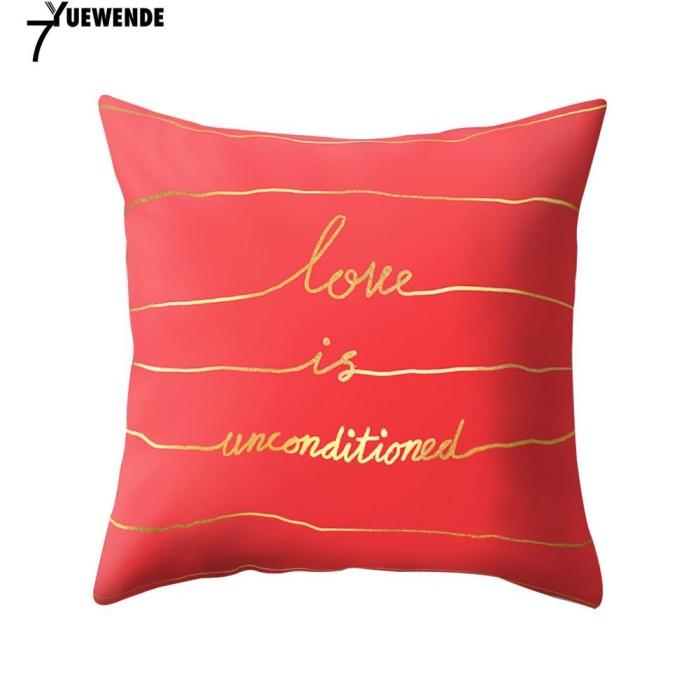 Jual Sarung Bantal Sofa Motif Print Untuk Dekorasi Rumah Kafe Harga Rp 30.700
