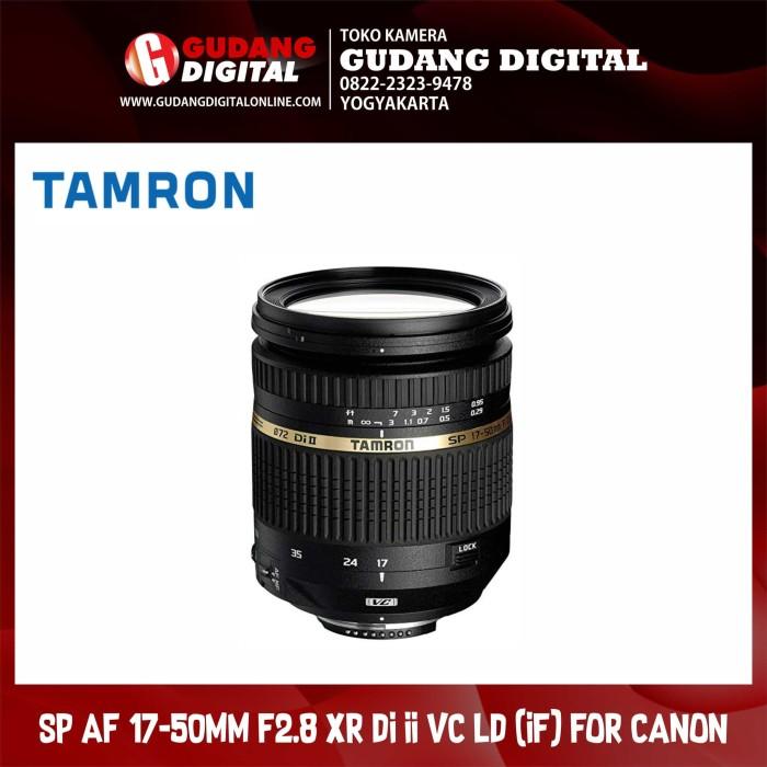 harga Tamron sp af lensa 17-50mm f2.8 xr di ii vc ld (if) for canon Tokopedia.com