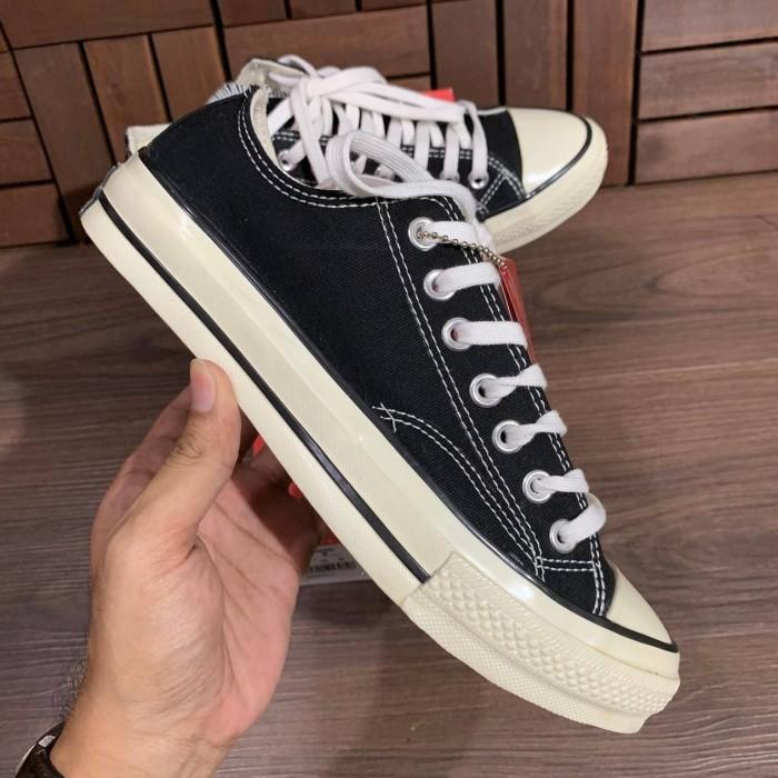 c010bc31c9d8 Jual Sepatu Converse All Star Chuck Taylor 70s Low Premium Black ...