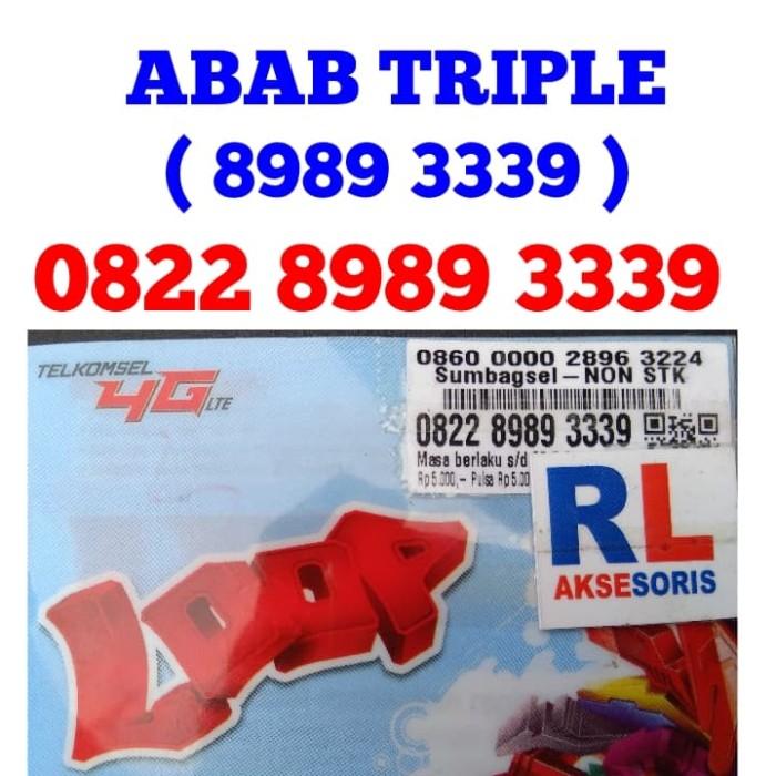 Nomor Cantik Simpati 8989 333 9 ABAB Nomor Cantik Telkomsel 8989
