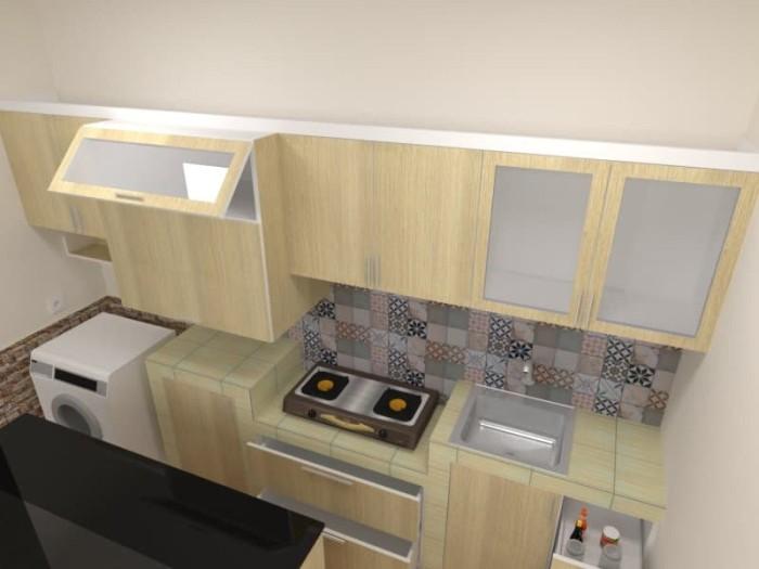 Jual Kitchen Set Minimalis Lemari Gantung Lemari Dapur Dki