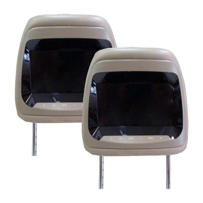 harga Headrest monitor avt 7088 Tokopedia.com