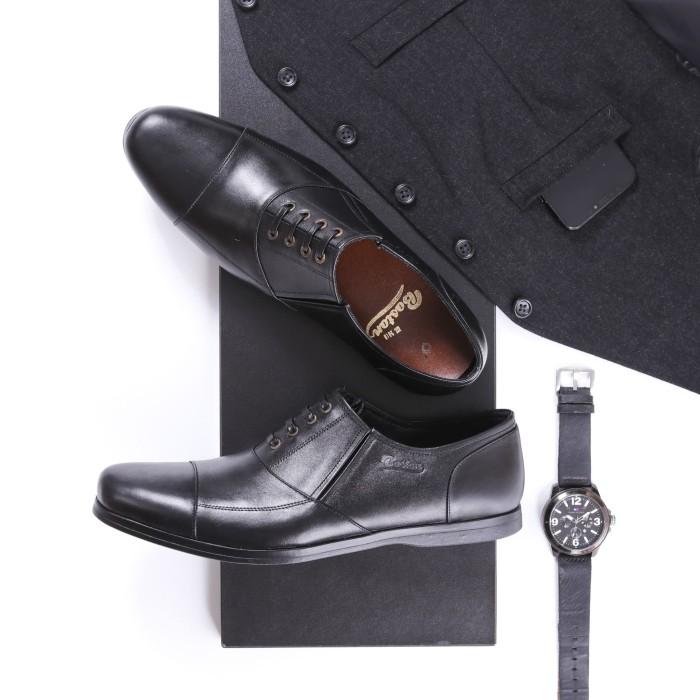 Foto Produk Sepatu pantofe prial / sepatu kerja / sepatu formal model Brescia - 38 dari Sepatu Kulit Pria FLV