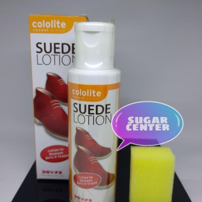 Cololite suede lotion/perawat dan pembersih…