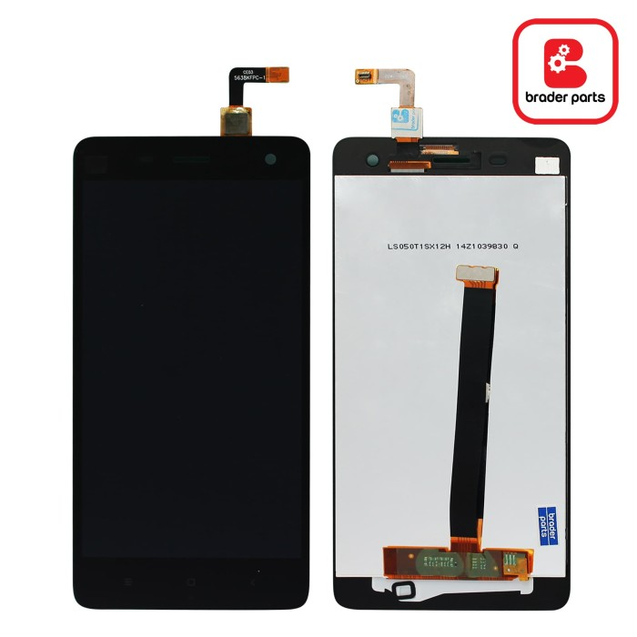 harga Lcd touchscreen xiaomi mi 4 black Tokopedia.com