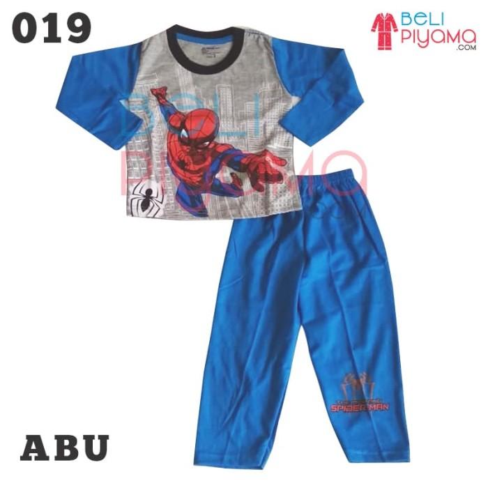 Jual Piyama Anak   Baju Tidur Anak Laki laki  SPIDERMAN Size 2-12 ... 6da932f9b5