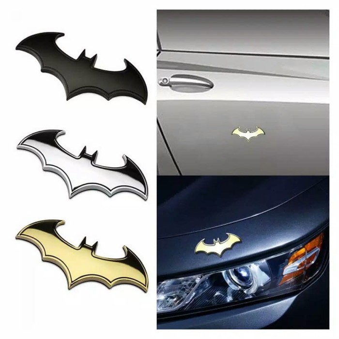 harga Emblem / logo batman kelelawar aksesoris mobil / motor otomotif Tokopedia.com