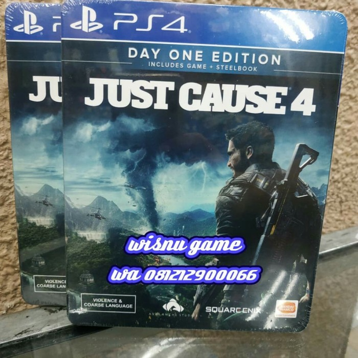 Jual PS4 JUST CAUSE 4 DAY ONE EDITION - Jakarta Utara - WISNU GAME |  Tokopedia