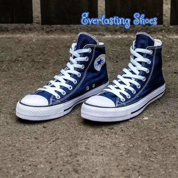 Jual Sepatu Converse All Star High Navy