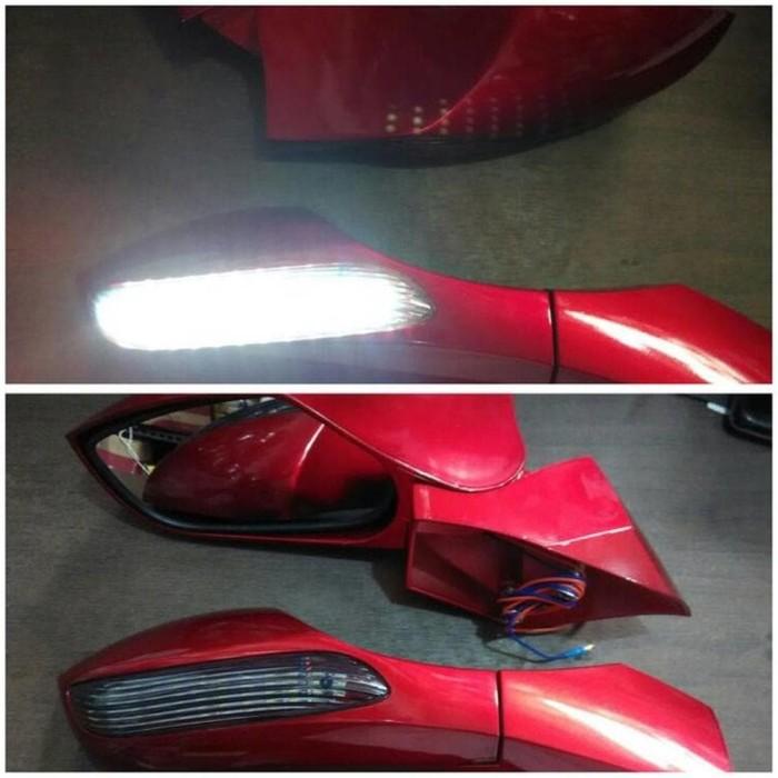 kaca spion NMAX lipat lampu sen samping model mobil Original