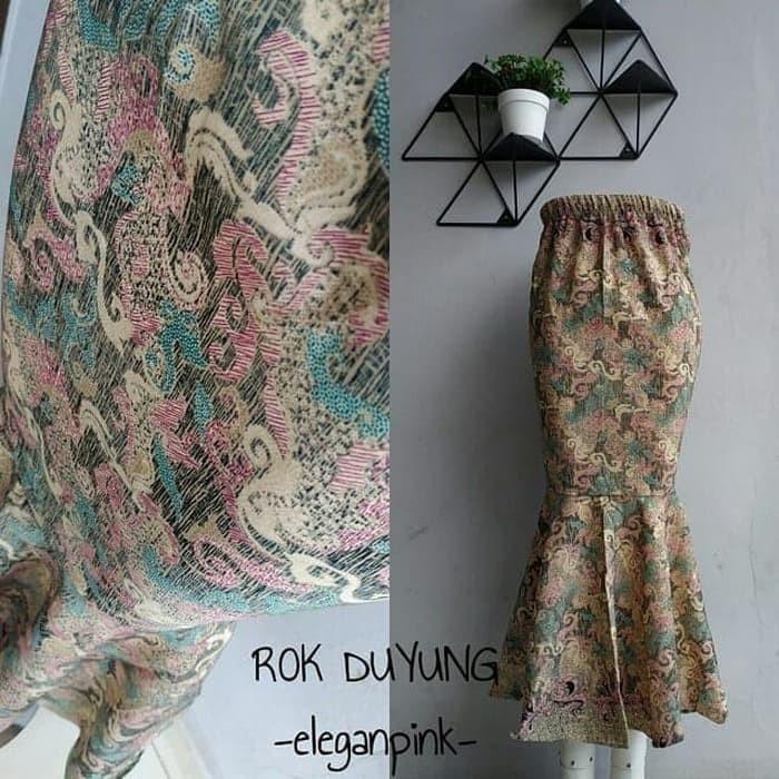 Jual Bawahan Kebaya Rok Instan Model Duyung Batik Dki Jakarta Ambar Dwi Olshop Tokopedia