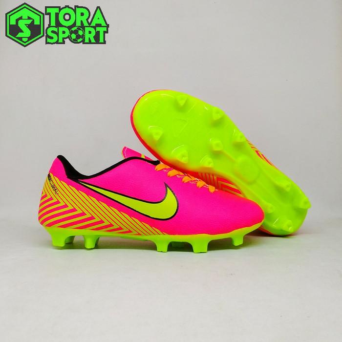 Jual Sepatu Bola Anak Nike Mercurial Neymar Pink List Hijau Stabilo ... bf41f47844