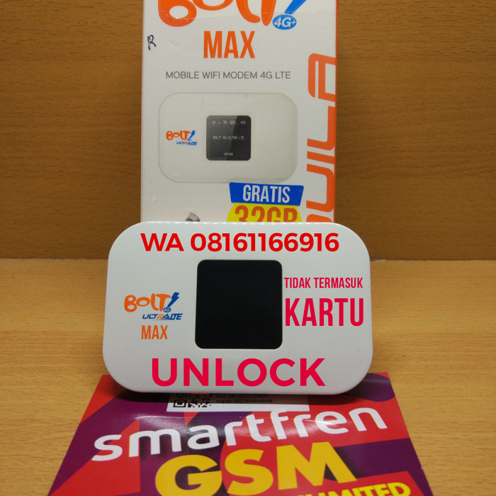 Jual Modem Mifi Bolt Aquila Max Support Unlimited Smartphone Tanpa