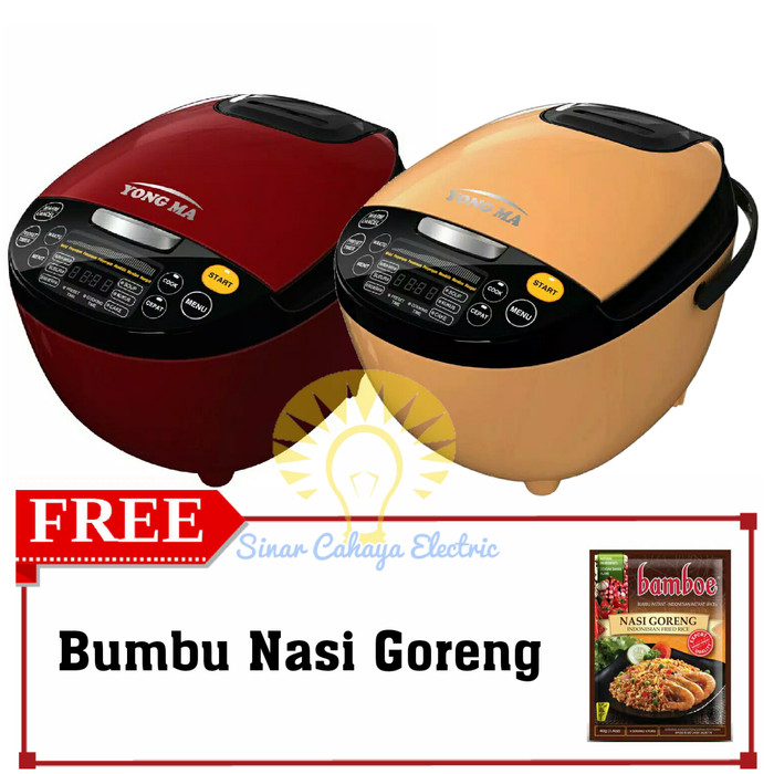 YONG MA Rice Cooker Magic Com Digital Eco Ceramic YMC 211 YMC211