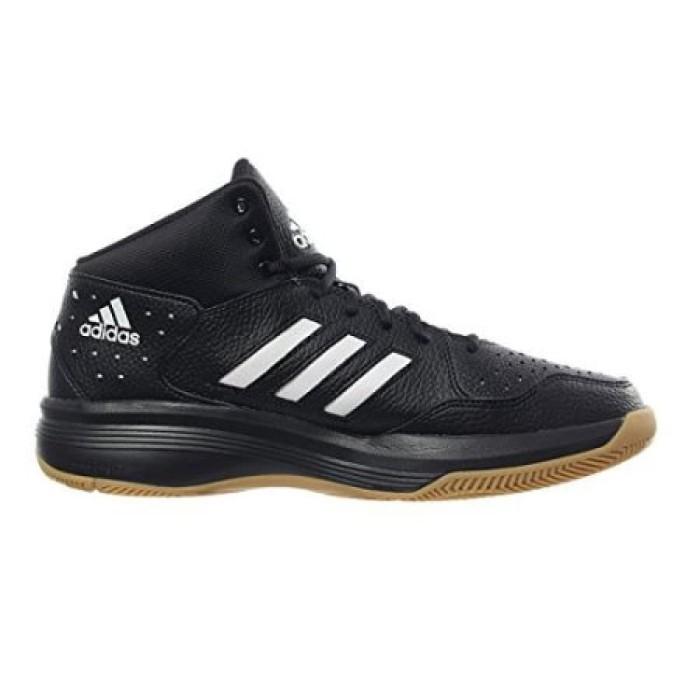 Jual sepatu basket ADIDAS COURT FURY black gum original asli murah ... 53bb725236