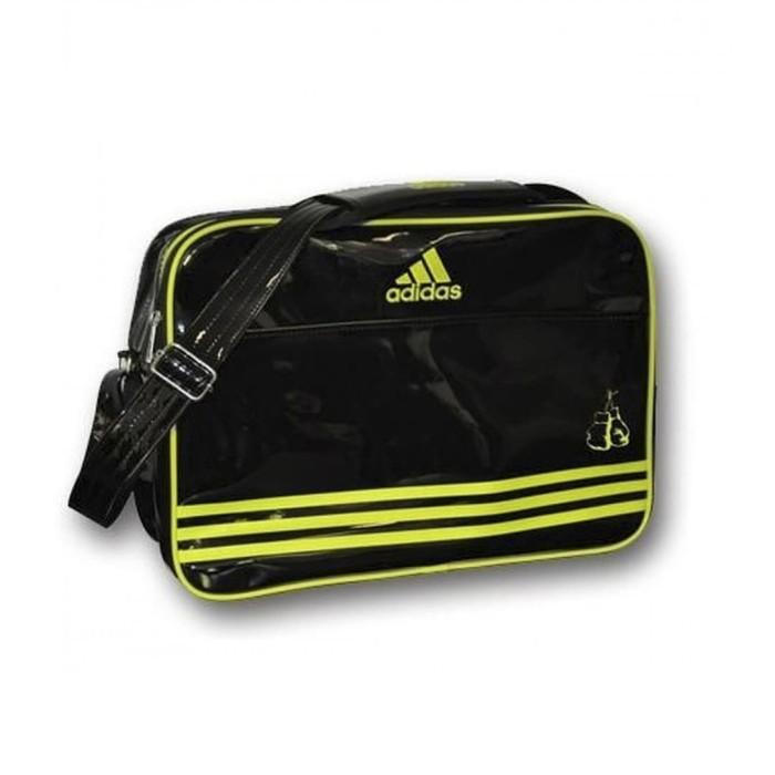 Foto Produk Adidas Leisure Messenger Boxing Size L -Black Yellow- ADIACC110CS2 dari Adidas Combat Sports