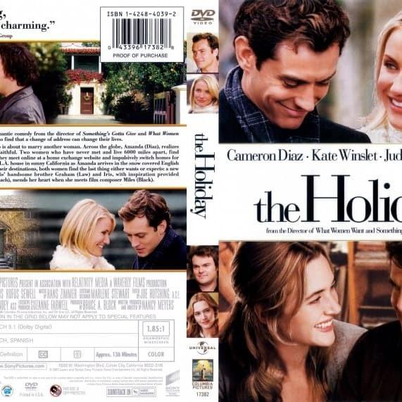 Jual The Holiday 2006 Dvd Movie Collection Film Koleksi Jakarta Barat M Collector Tokopedia