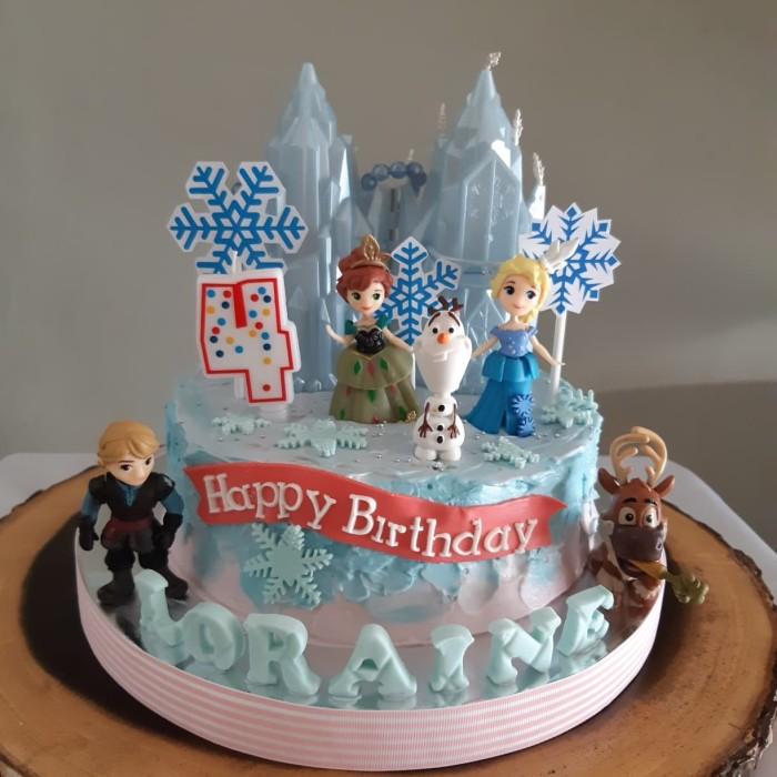 Jual Kue Ulang Tahun Kue Frozen Birthday Cake Kue Princess Jakarta Barat Bake Eat Tokopedia