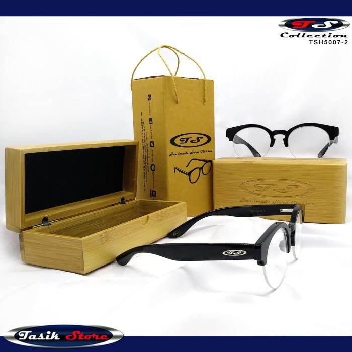 Foto Produk TS Horn Glasses TSH5007-2 Frame Kacamata Unik Model Terbaru Tanduk dari Tasik Store