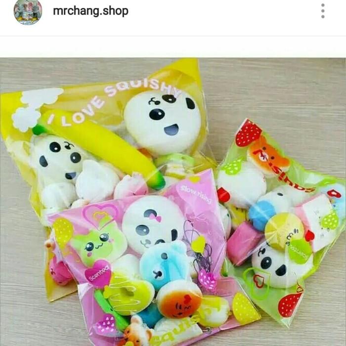 Foto Produk Squishy paket isi 10pcs murah dari mrchang.shop