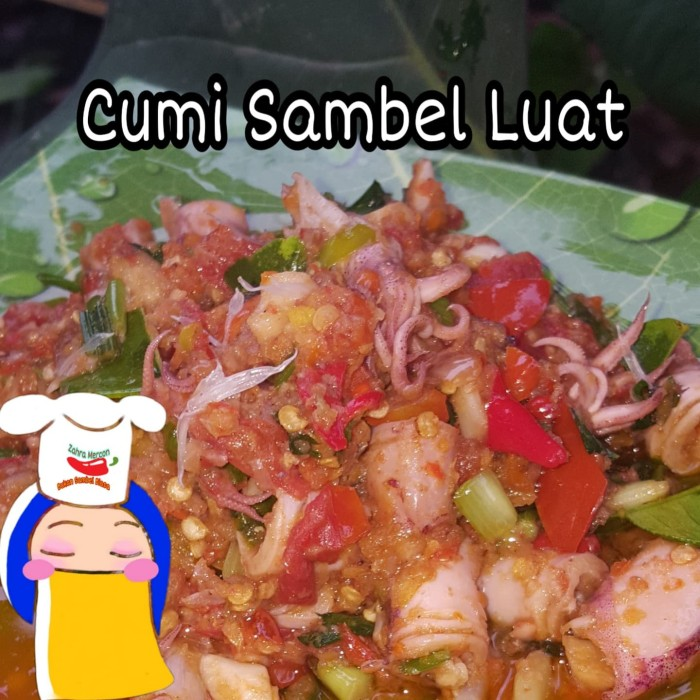 Foto Produk Sambal Mercon Cumi Luat 230gr - Sambel Luat dari diamond toko