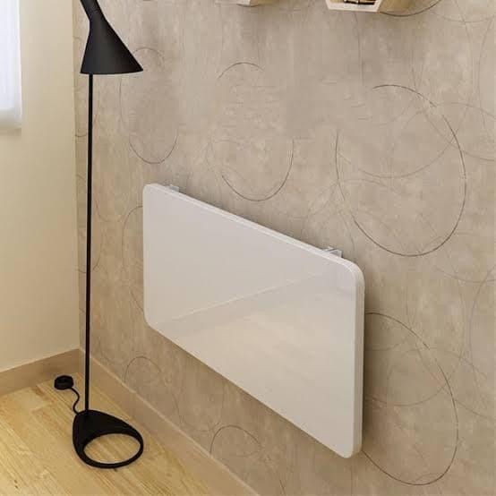Foto Produk Meja Lipat Putih Meja belajar anak Spidol bisa dihapus 60x40cm - Putih dari ROBOMAN DESIGN
