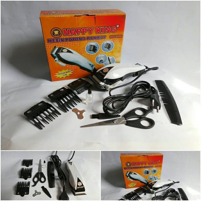 Jual Alat Cukur Rambut Happy King HK 900 Clipper Trimer Murah ... ca908f0355