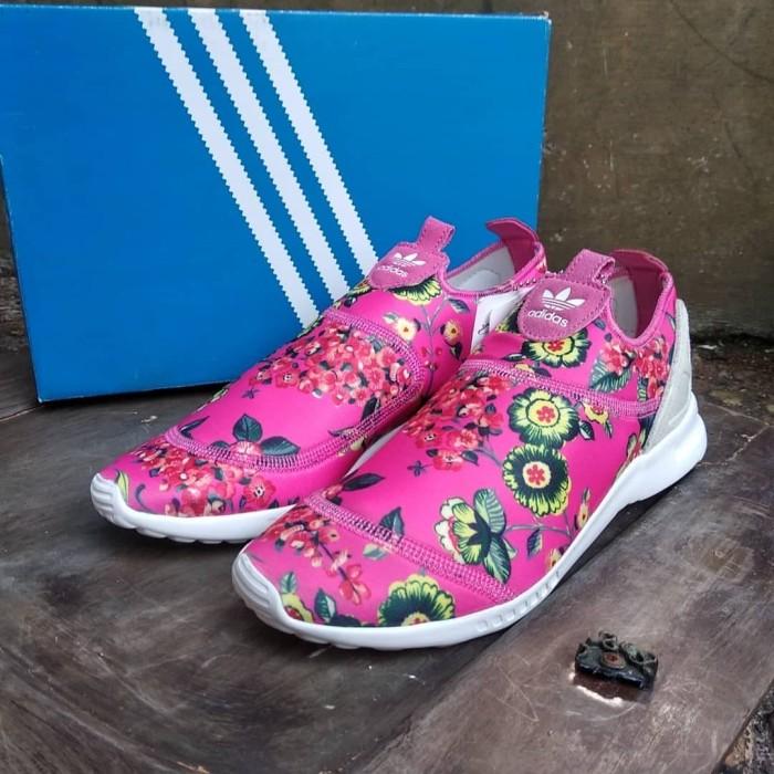 promo code 2d0f3 bfb16 Jual Adidas ZX Flux Adv Smooth Slip On (S78960) MG - Kota Surabaya - Kombi  Sport | Tokopedia