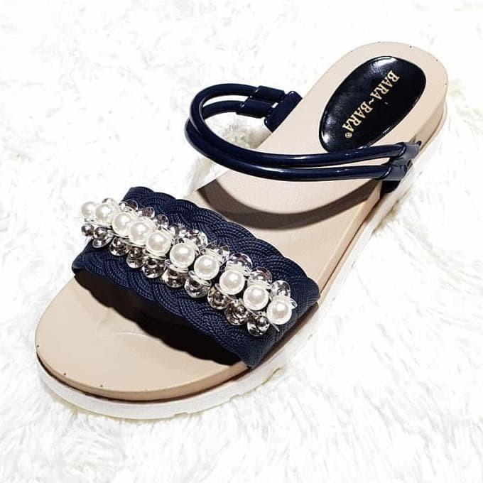 aae2daeead2c Jual jelly sandal wanita import sendal karet bara bara 1612ktc ...